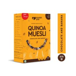 Nourish You Quinoa Muesli (Chocolate & Banana)