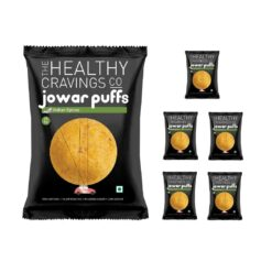 THCC - Roasted Jowar Puffs (Indian Spices) - 50g