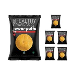 THCC - Roasted Jowar Puffs (Herbs & Sundried Tomatoes) - 50g
